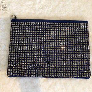 Nwt Crystal Clutch